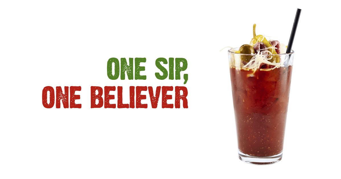 One sip, One Believer!
